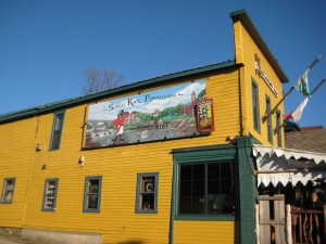 North Country Brewing mural