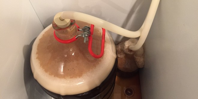 Very active Primary fermentation