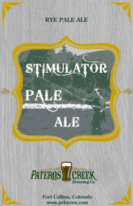 Pateros Creek Stimulator Pale Ale