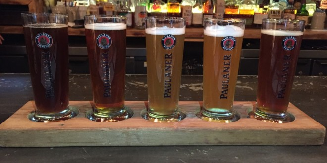 Paulaner NYC sampler flight