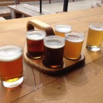 Prost Brewing Company sampler beers