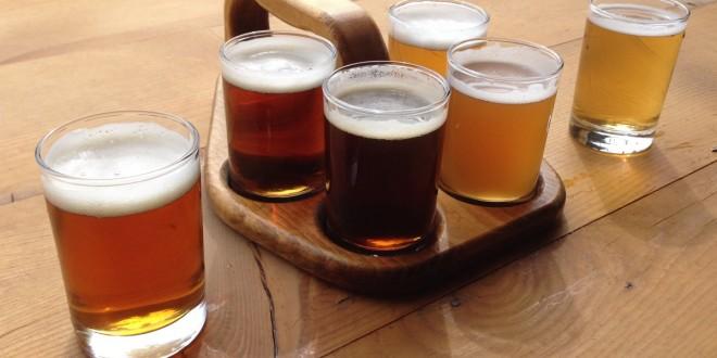 Prost Brewing beer sampler