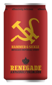 Renegade Hammer & Sickle Russian Imperial Stout