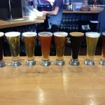 River North Brewery sampler