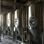 Roanoke Railhouse Brewery fermenters