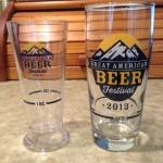 GABF sampling glasses