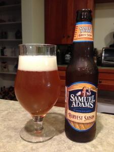 Samuel Adams Harvest Saison