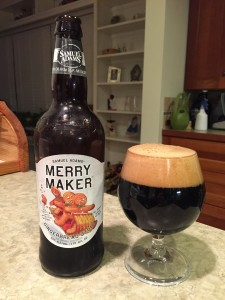 Samuel Adams Merry Maker Gingerbread Stout