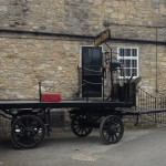 Samuel Smith Brewery dray cart