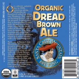 Santa Cruz Mountain Dread Brown Ale
