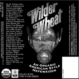 Santa Cruz Mountain Wilder Wheat