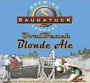Saugatuck Oval Beach Blond Ale