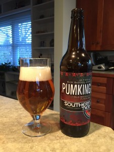 Southern Tier Rum Barrel Aged Pumking