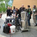 Homebrew supplier equipment demonstration