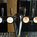 La Trappe beers on tap