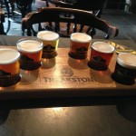 Theakston's Brewery sampler