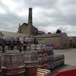 Theakston's Brewery yard