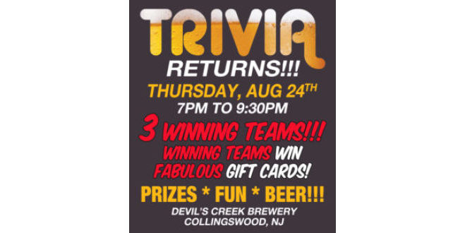 Trivia Night @ The Creek - Beer Infinity