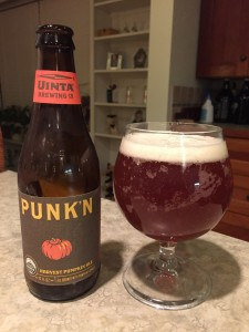 Uinta Punk'n Harvest Pumpkin Ale