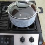 Pan of water