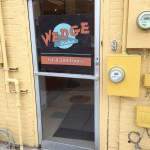 Wedge Brewing Company back door