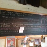 Wedge Brewing Company menu