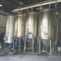 Fermentation tanks at Whistler Brewing