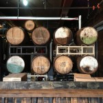 Wicked Weed Brewing barrels
