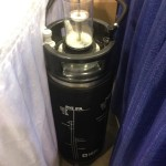 Cornelius keg attached to the Zymatic