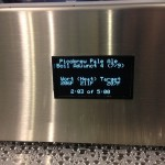 Display screen whilst brewing