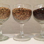 Grain bill #1/2: US 2-row Pale malt, Crystal 40L malt, Chocolate malt