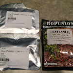 Horizon, Cascade & Centennial hops