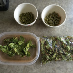 Hops: Horizon pellets, Cascade whole flowers, Centennial whole flowers