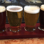 Belgian Beer Cafe flight