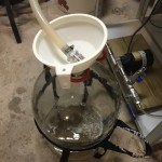 Transferring wort to carboy