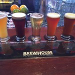 Sampler flight at Brewhouse Brewing