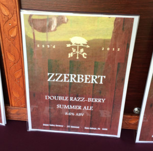 Zzerbert by Happy Valley Brewing