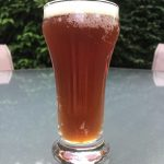 Taster sample of Kitchen Sink beer