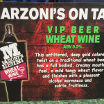 Wheat Wine by Marzoni's