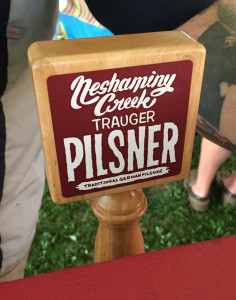 Trauger Pilsner by Neshaminy Creek Brewing