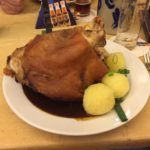 Pork knuckle meal