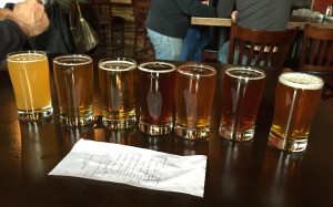 Beer flight #1
