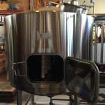 Mash Tun at Postmark Brewing