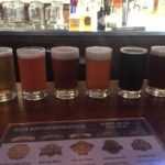 Flight at Rock Bottom Brewery