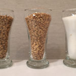 Grain bill: German Pilsner malt, White Wheat malt & White table sugar