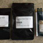 Hops & flavorings: Styrian Goldings, Hallertauer Mittelfrueh & Bitter orange peel