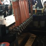 Tap handles at The Freehouse